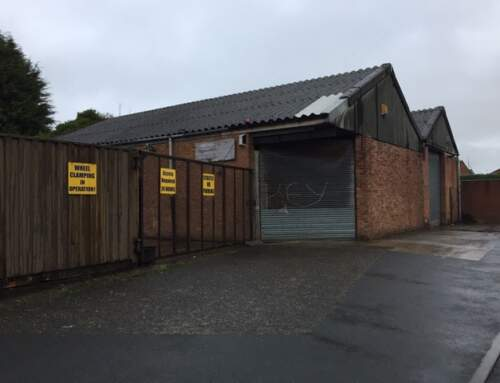 February Purchase: Industrial Warehouse and Land